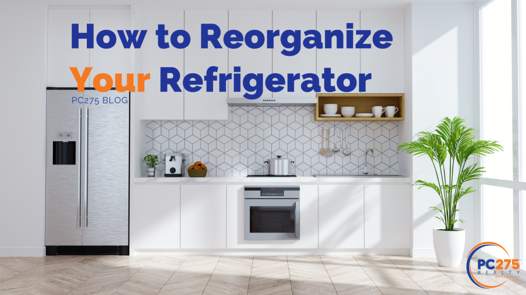 How to Reorganize your refrigerator, cleaning