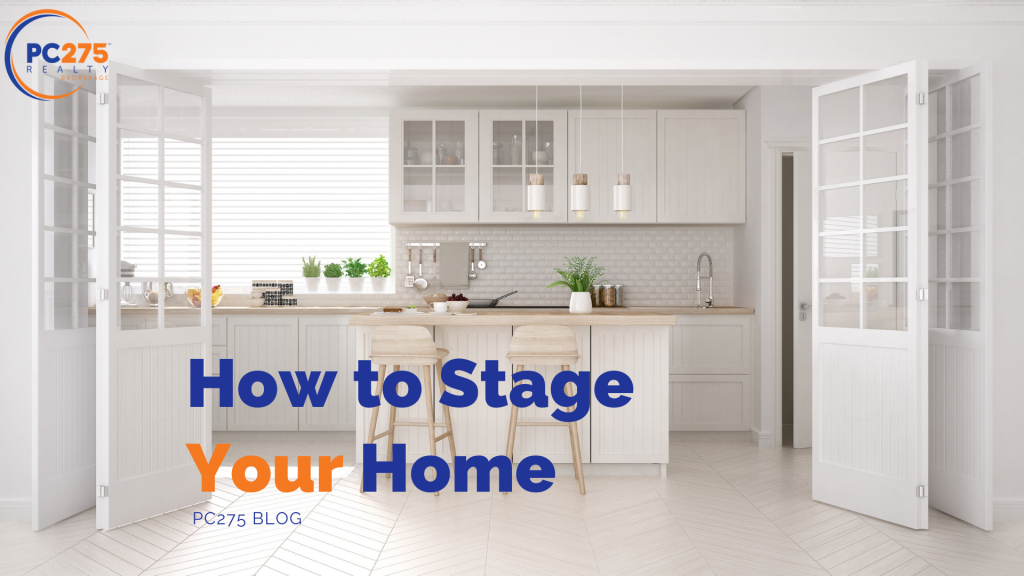 How to stage your home when selling